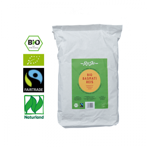 Bio-Basmati Reis, weiß 1