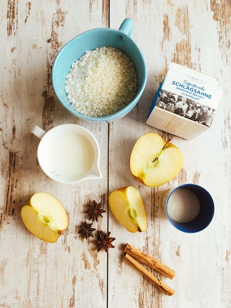 Milchreis mit Apfelkompott zum Mitnehmen 1