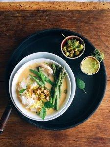 Grünes Fisch-Curry mit Jasminreis 28