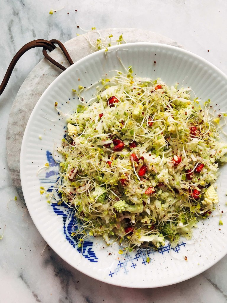Reis-Romanesco-Salat 1