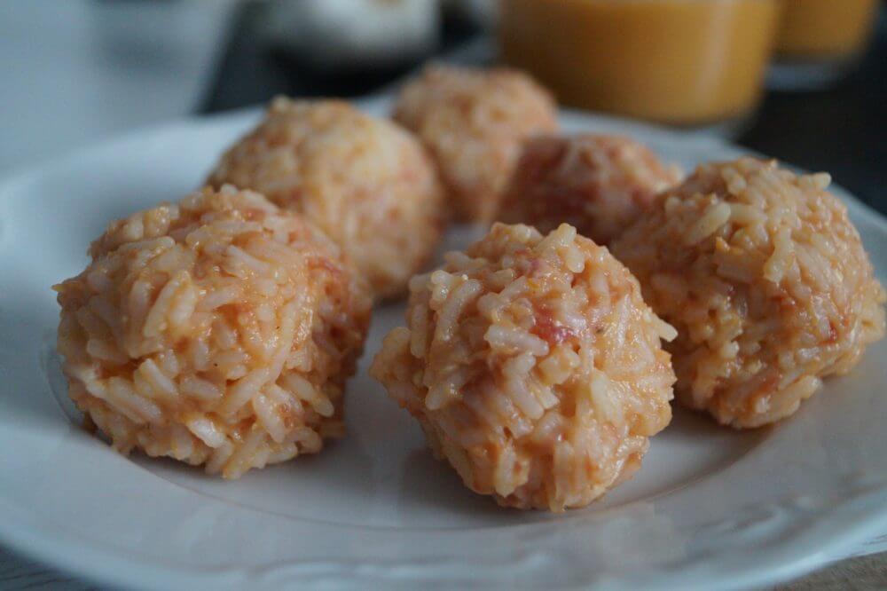 Orientalische Reisbällchen 8