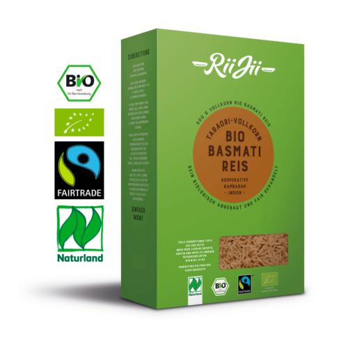 Bio-Basmati Reis, Vollkorn (500g) 1