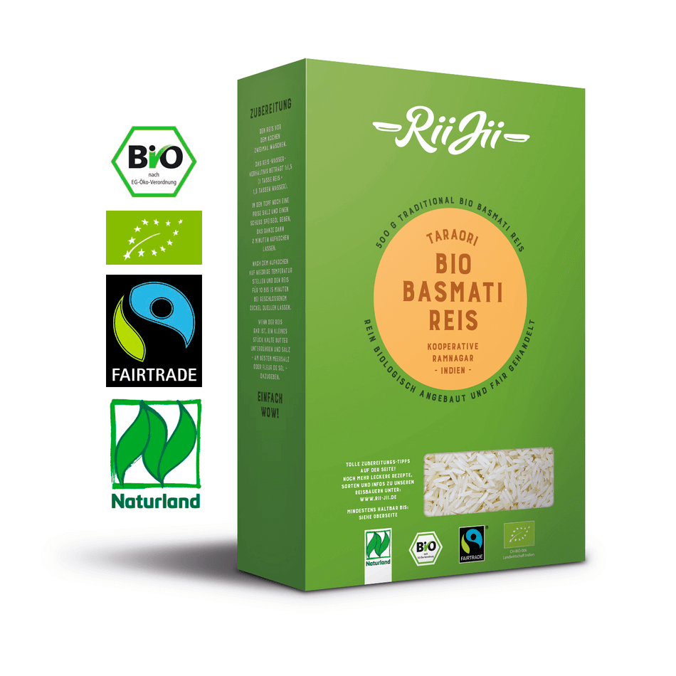RiiJii Bio Reis. Qualität und Transparenz 9