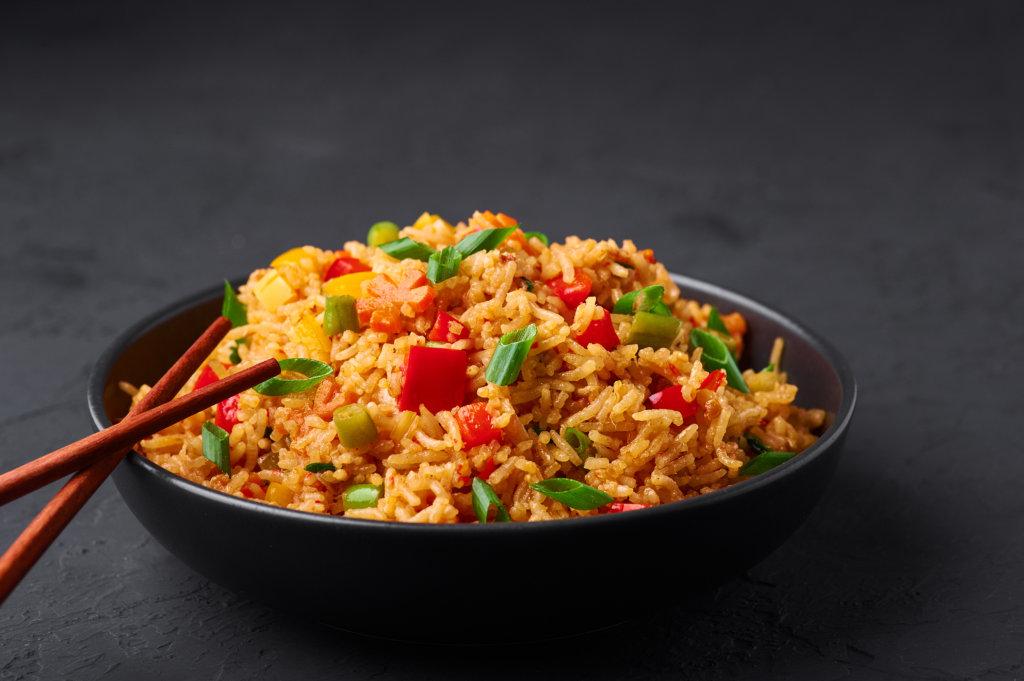 Gebratener Basmati-Reis mit Gemüse 1